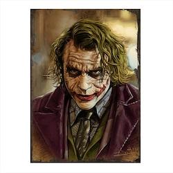 Ahşap Tablo Joker