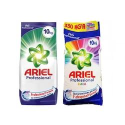 Ariel Professional Toz Çamaşır Deterjanı 10 KG + Parlak Renkler 10 KG
