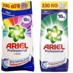 Ariel Profesyonel Canlı Renkler Toz Çamaşır Deterjanı 10 KG + Ariel Profesyone Toz Çamaşır Deterjanı 10 KG