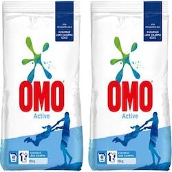 Omo Active Toz Çamaşır Deterjanı 40 Yıkama 2 x 10 KG