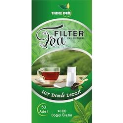Tea Filter Çay Demleme Filtresi / Poşeti 50 Adet
