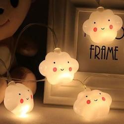 Smile Bulut Led Işık İp tipi Dekoratif Hediye 10lu 200cm