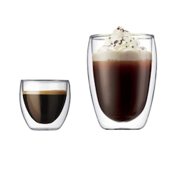 Çift Cidarlı Bardak Double Wall Espresso&Latte&Kahve&Çay Bardağı