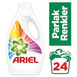 Ariel Renkliler için Sıvı Çamaşır Deterjanı 24 Yıkama 1560 ML