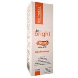 Dermoskin Be Bright Spf 50 Likit Fondöten Medium