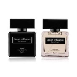 Legacy Of Essence Erkek ve Kadın Parfüm EDP 75 ml ( 2' li set )
