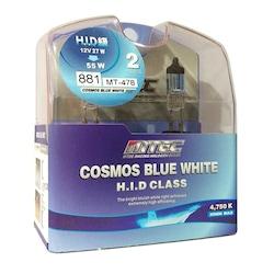 H27 Cosmos Blue Süper Beyaz Işık MTEC Far Ampulü Yüksek Işık