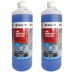 2x Würth Konsantre Antifrizli Cam Temizleme Suyu Plus 1000 ml