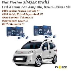 Fiat Fiorino ŞİMŞEK ETKİLİ 8400Lümen Yüksek Güç 6500K Led Xenon