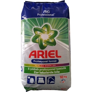 Ariel Dağ Esintisi Renkliler İçin Toz Deterjan 10 KG