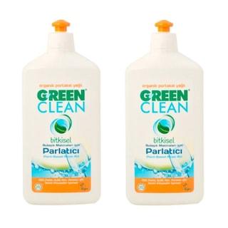 U Green Clean Bulaşık Makine Parlatıcısı 2 x 500 ML