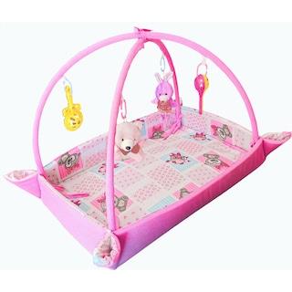 BİBEBE Bebek Oyun Minderi Halısı - Jimnastik Merkezi - BARİYERLİ