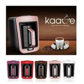 Fakir Kaave Türk Kahve Makinesi (VİOLET MOR-ROUNGE KIRMIZI-BEYAZ)