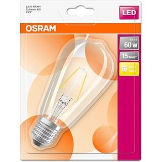 Osram Led Star Edison 7W SARI Işık