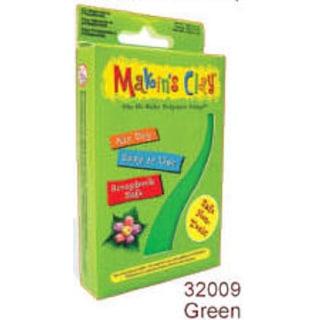Makin's Clay Hava İle Kuruyan Polimer Kil 32009 Yeşil