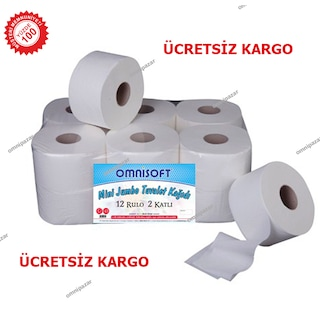 Mini Jumbo Tuvalet Kağıdı 12'li Omnisoft