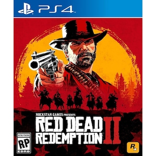 PS4 RED DEAD REDEMPTİON 2 PAL 2.BÖLGE- 2 CD HARİTALI BONUS KOD LU