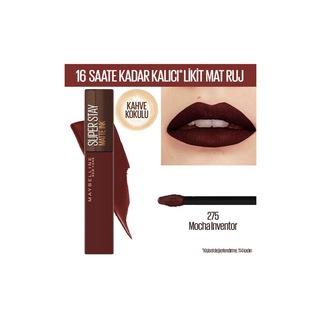 Maybelline New York Super Stay Matte Ink Likit Mat Ruj - 275 Moch