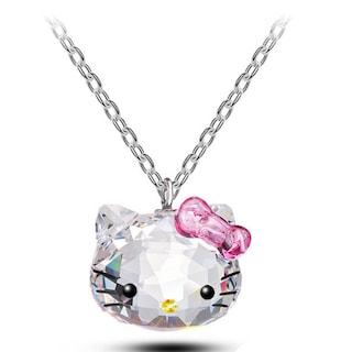 Monemel Swarovski Hello Kitty Kolye