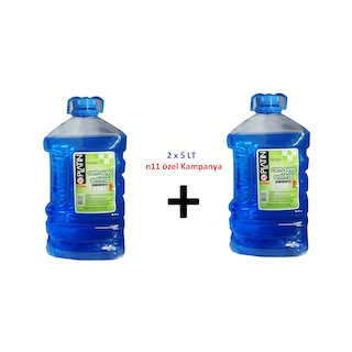 Platin Cam Suyu Antifirizli - Şampuanlı -30° 2 x 5 Lt
