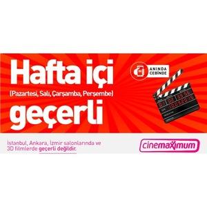 Tüm Cinemaximum'lar - (İstanbul, Ankara, İzmir Hariç - 3D Hariç)