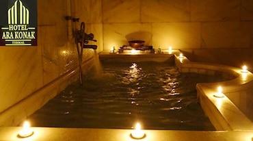 Arakonak Termal Hotel'de Çift Kişilik VIP Aile Hamamı Kullanımı