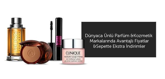 Kozmetik & Parfüm Markaları - İndirim Kampanyası