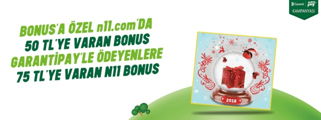 GarantiPay - Bonus Kampanyası