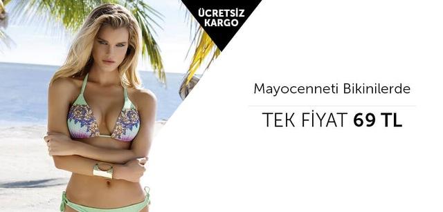 Mayocenneti Bikinilerde Tek Fiyat 69 TL