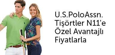 U.S.PoloAssn. Tişörtler N11'e Özel Avantajlı Fiyatlarla - n11.com