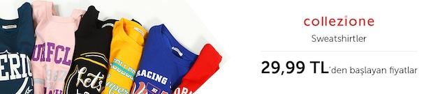 Collezione Sweatshirtler 29,99 TL'den Başlayan Fiyatlarla - n11.com