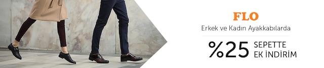 FLO Kadın ve Erkek Ayakkabılarda %25 Anında İndirim - n11.com