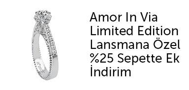 Amor Pırlanta Lansmana Özel %25 Sepette Ek İndirim - n11.com