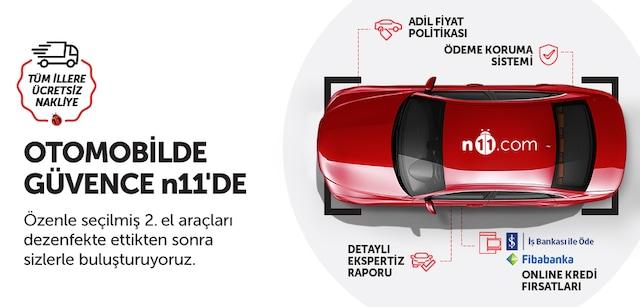"İkinci El Araç Satışı - ""0"" Km Araç Alır Gibi - n11.com - n11.com"