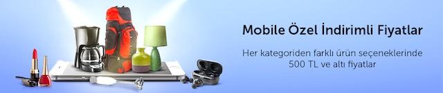 500 TL'ye kadar mobile özel fiyatlı ürünler - n11.com