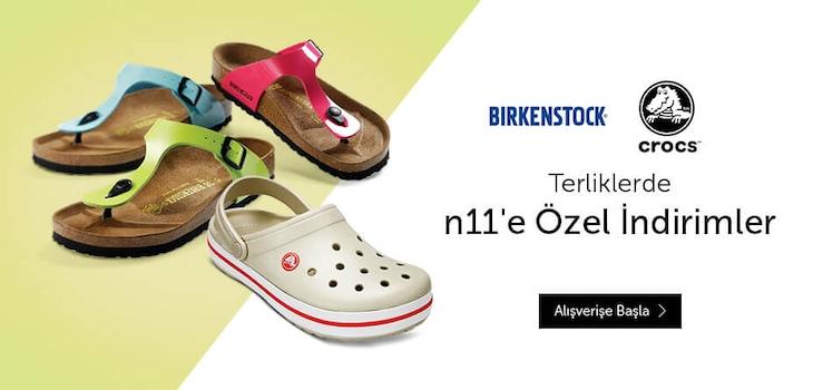 Birkenstock ve Crocs Terlikler