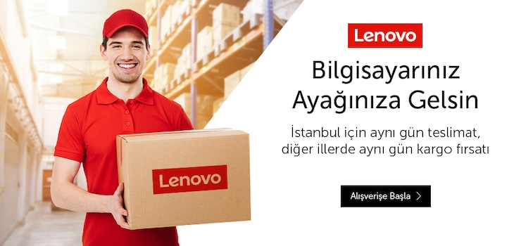Lenovo Aynı Gün Teslimat Kampanyası