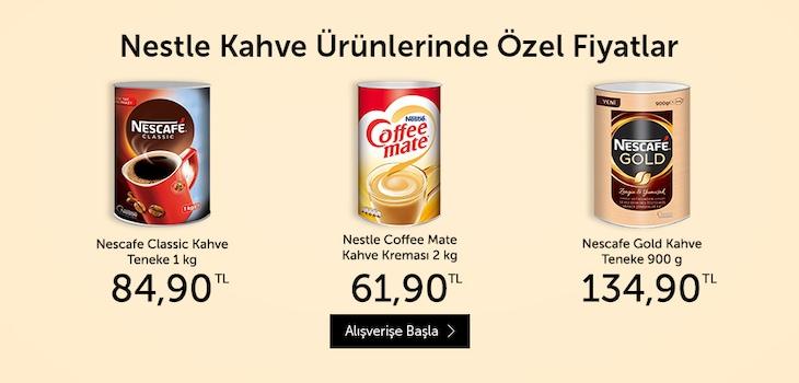 Nestle Ürünlerinde Fırsatlar