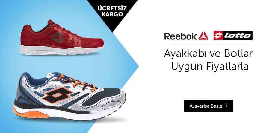 Reebok, Lotto, Koşu, Spo, Ayakkabı