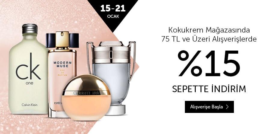 parfüm kozmetik indirim fırsat kampanya