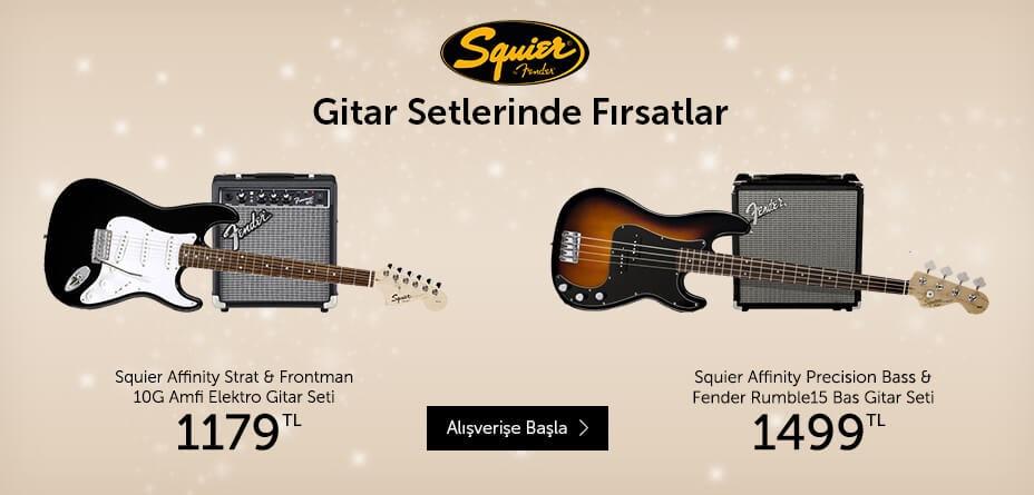 Squier Gitarlarda Fırsat