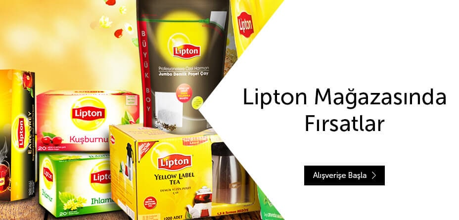 Lipton Mağazasında Fırsatlar