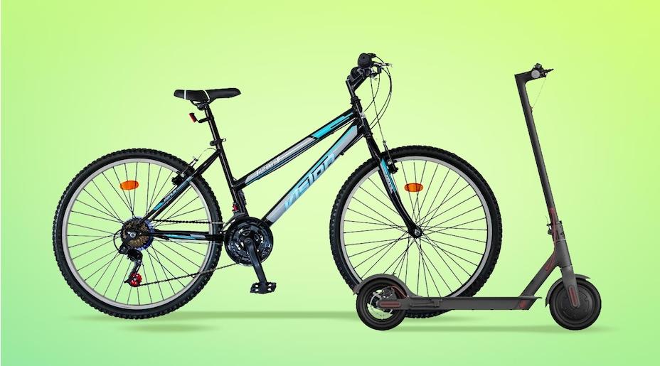 Seçili Scooter,Bisiklet