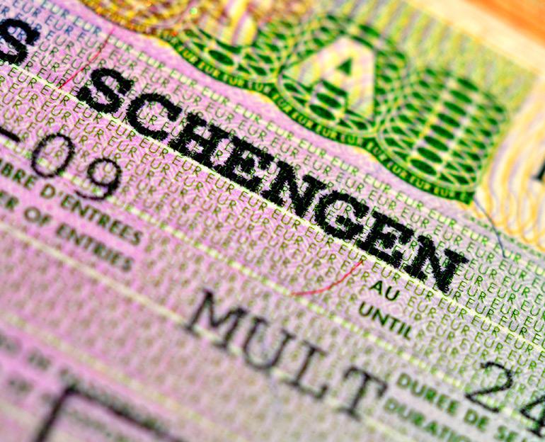Schengen, Vize hizmeti
