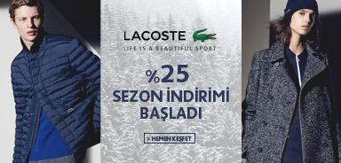 Lacoste - Sezon Ürünlerinde %25 İndirim  - n11.com