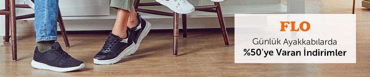 Flo Günlük Ayakkabılarda %50'ye Varan İndirimler - n11.com