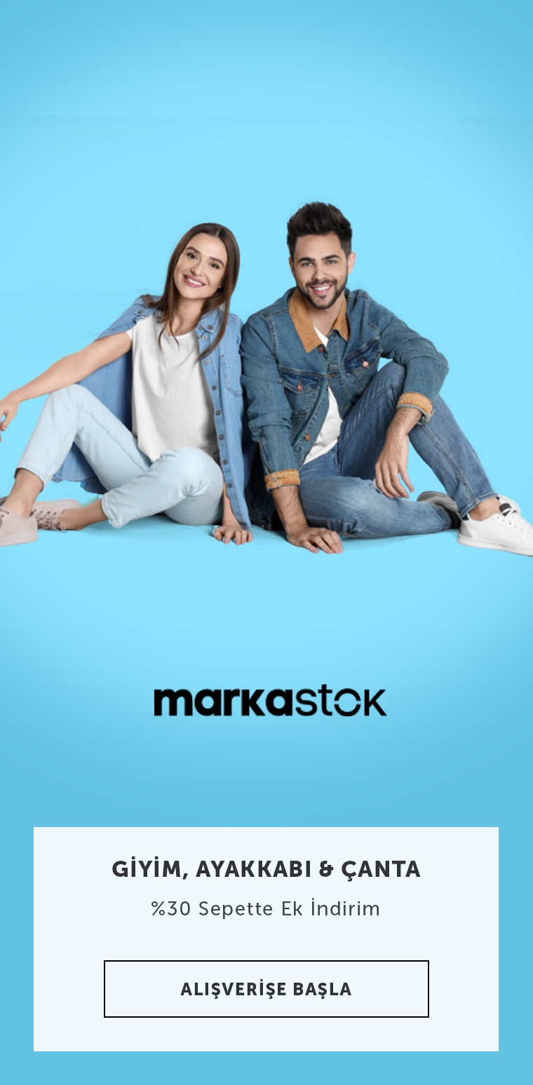 MarkaStok Sepette Ek %30 İndirim