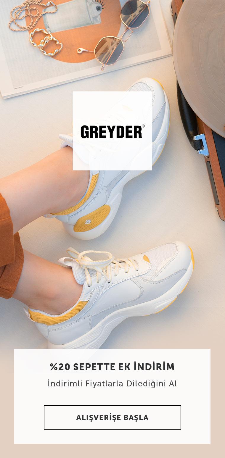 Greyder %20 indirim
