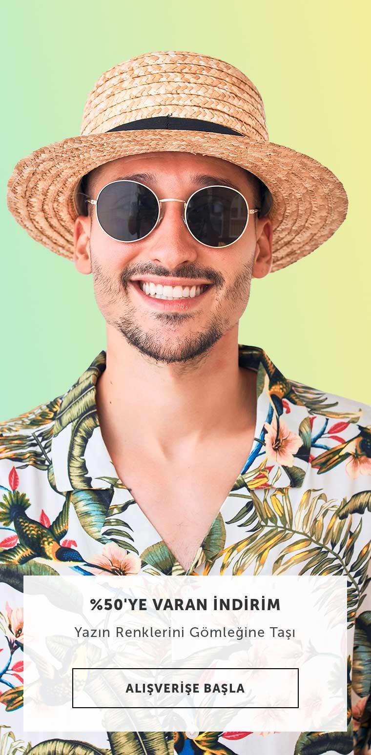 Renkli Yazlık Gömlekler