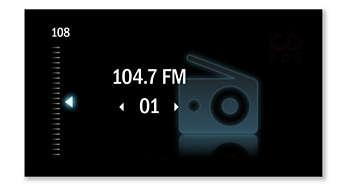 Önceden ayarlanmış FM dijital istasyon ayarı
